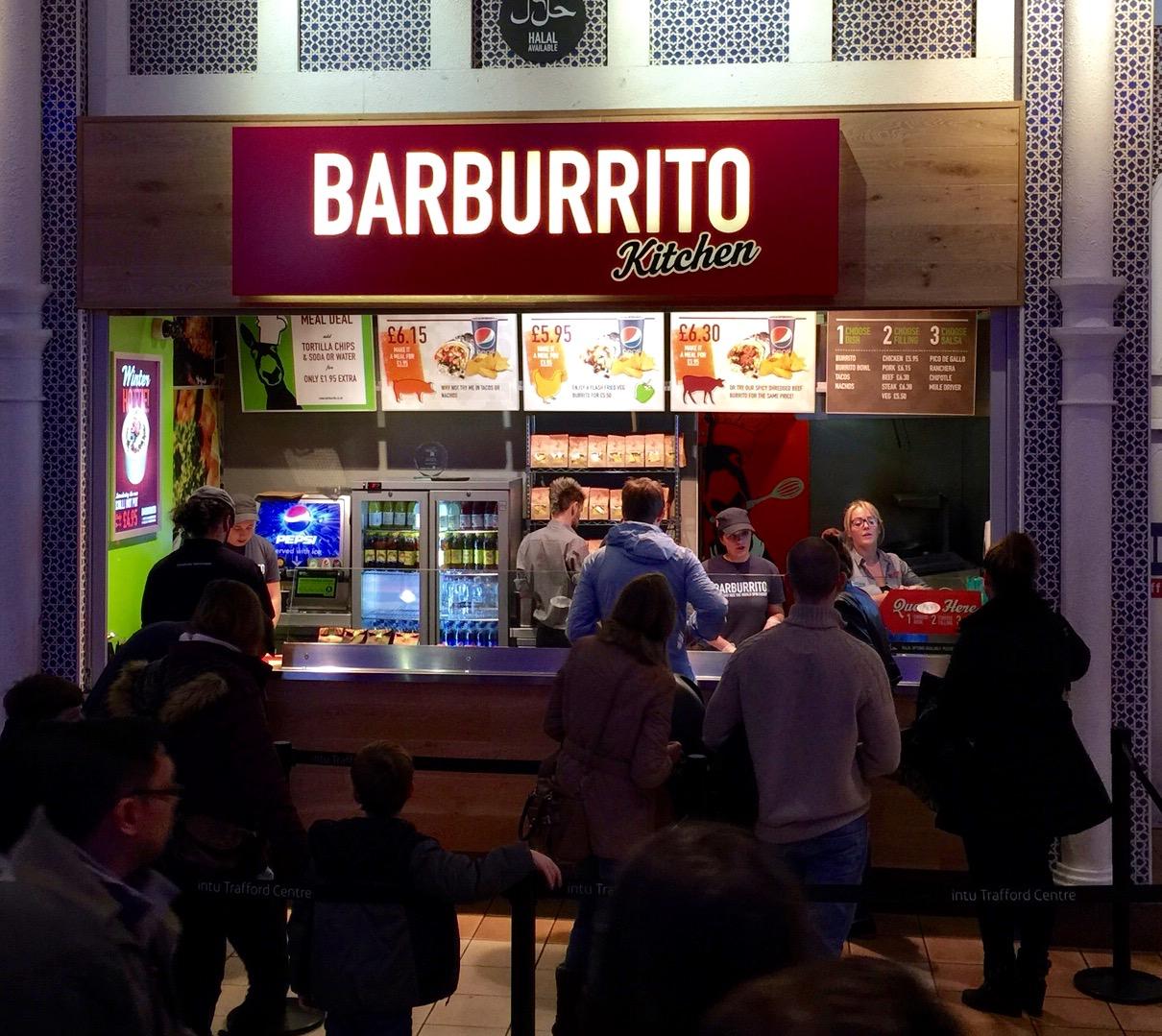 Barburrito Kitchen 7/10