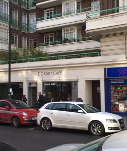 The Dorset Cafe - Melcombe St, London